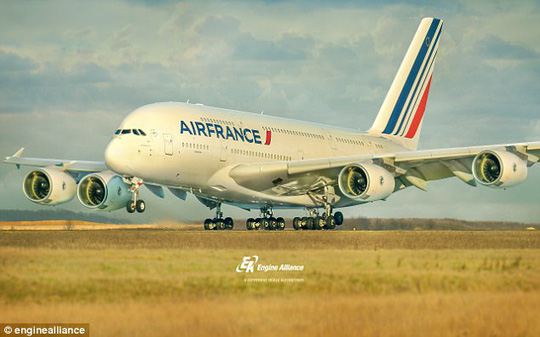Airbus A380 là máy bay chở khách lớn nhất thế giới. Ảnh: Daily Mail