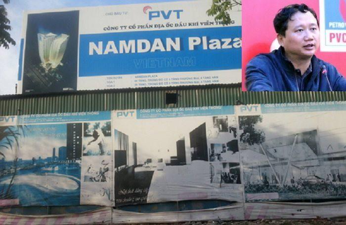 """""""Cái dớp"""" dự án Nam Đàn Plaza trên đất nhà tang lễ và con đường lao lý của Trịnh Xuân Thanh"""