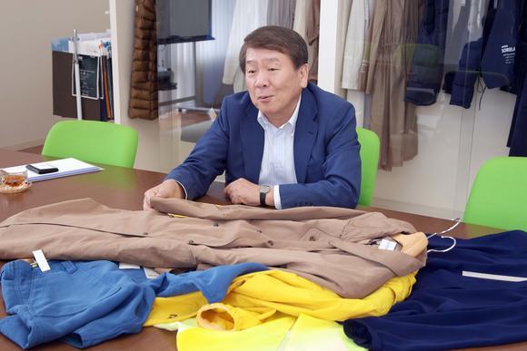 Ông Ryuji Yoshioka, chủ tịch Daiichi Orimono.