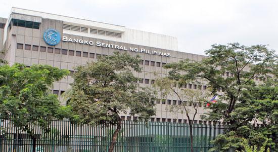 Trụ sở Ngân hàng Trung ương Philippines.
