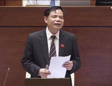 [Live] Toàn bộ nội dung chất vấn và trả lời chất vấn của Bộ trưởng NN&PTNT Nguyễn Xuân Cường - Ảnh 1.