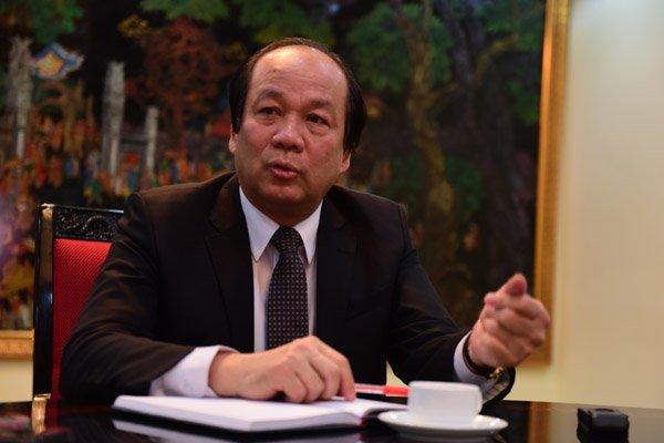 Bộ trưởng, Chủ nhiệm VPCP Mai Tiến Dũng