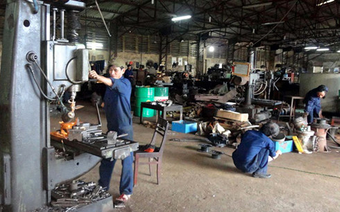 Công nghiệp chế biến, chế tạo có mức tăng trưởng cao trong năm 2016.(Ảnh minh họa: KT)