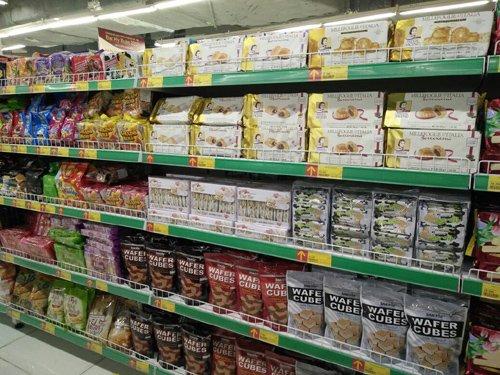 Bánh kẹo Thái Lan, Đức, Ý…đều đã có mặt tại Việt Nam