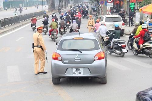 Xe lấn làn BRT sắp bị xử lý theo cả hình thức phạt nguội