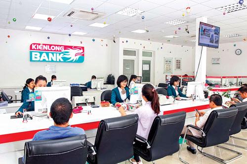 Giao dịch tại Kienlongbank.
