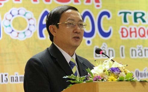 Ông Huỳnh Thành Đạt được bổ nhiệm làm Giám đốc Đại học Quốc gia TP HCM.