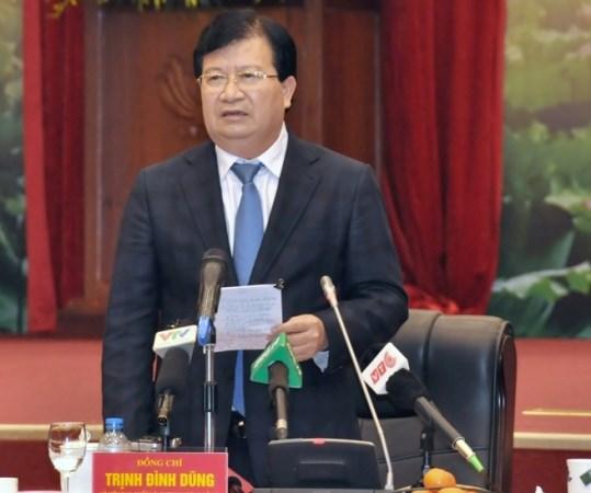Phó Thủ tướng Trịnh Đình Dũng giao nhiều nhiệm vụ cho Bộ Tài nguyên và Môi trường.