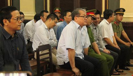 Phạm Công Danh và các đồng phạm tại phiên tòa