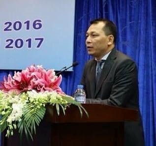 Ông Đặng Hoàng An, Tổng giám đốc Tập đoàn Điện lực Việt Nam. Ảnh: Kiều Vui.