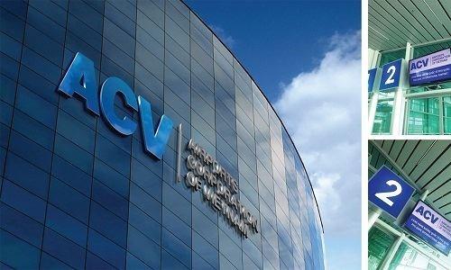 ACV đang khai thác 22 cảng hàng không trong nước.
