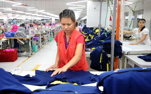 Tập đoàn Dệt may đặt tốc độ tăng trưởng 6,5-7% trong năm 2017.