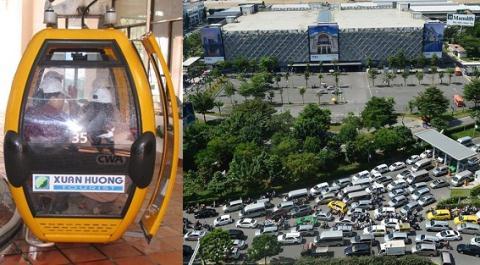 Đề xuất làm cáp treo đi vào sân bay Tân Sơn Nhất.