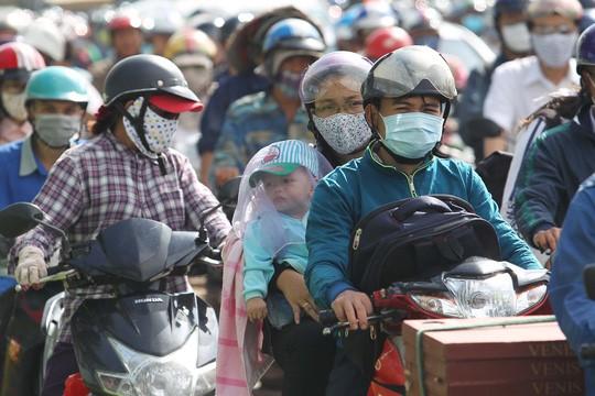 Giao thông ở khu vực Thảo Điền (quận 2, TP HCM) thường xuyên xảy ra ùn tắc.