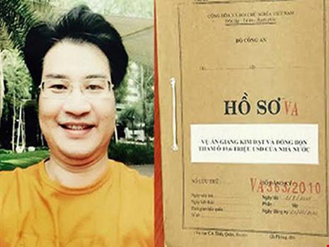 Giang Kim Đạt bị truy tố đã tham ô hàng trăm tỉ đồng của Vinashinlines