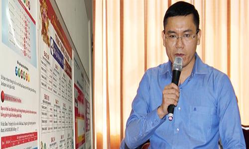 Ông Nguyễn Thanh Đạm - Phó Tổng giám đốc Vietlott.
