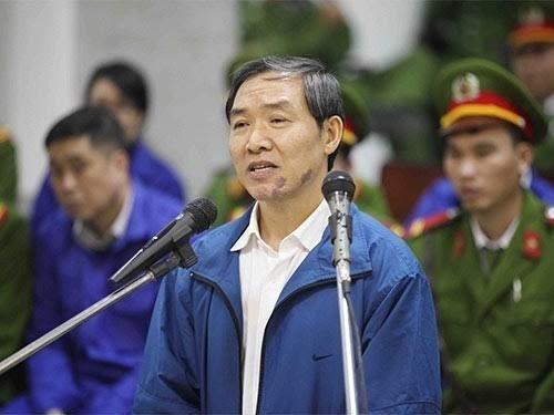 Dương Chí Dũng - nguyên Cục trưởng Cục Hàng hải Việt Nam - bị tuyên án tử hình vào năm 2014.