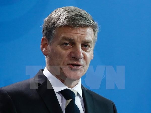 Thủ tướng New Zealand Bill English. (Ảnh: AFP/TTXVN)