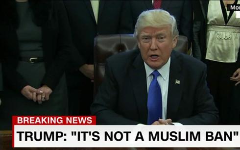 Tổng thống Trump. Ảnh: CNN.