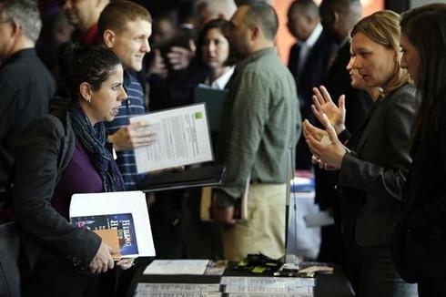 Tỷ lệ thất nghiệp của Mỹ tăng rất nhẹ trở lại nhưng thực tế là do có nhiều người đang tìm kiếm những cơ hội việc làm mới tốt hơn. Ảnh: Reuters.
