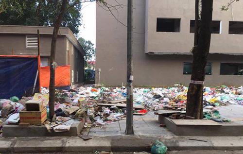 Hà Nội: Người dân ăn tết với bãi rác tự phát khổng lồ hôi thối