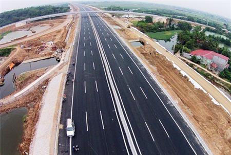 Khoảng 575 km cao tốc sẽ được xây dựng từ nay đến năm 2022. Ảnh:Giang Huy