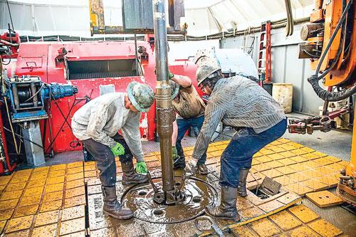 Khai thác dầu đá phiến tại Hoa Kỳ.