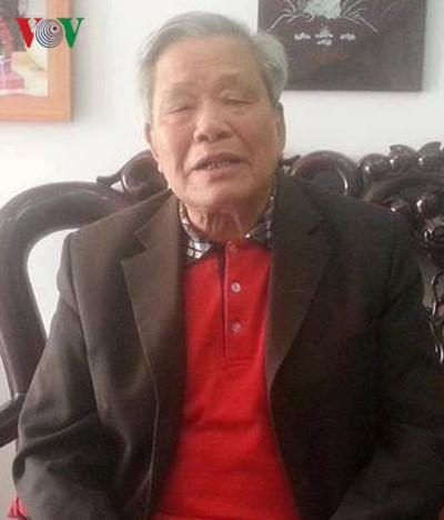 Ông Nguyễn Túc (Ảnh: Minh Châm)
