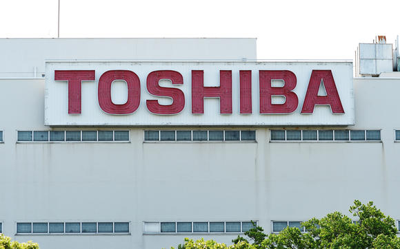 Cổ phiếu Toshiba giảm sâu 12% - ảnh 1