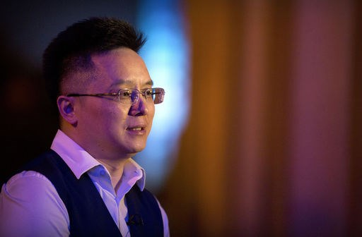 Tony Xia, CEO của công ty Recon Holdings. (Nguồn: AP)