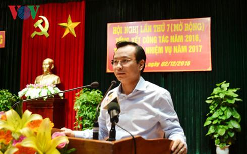 Ông Nguyễn Xuân Anh, Bí thư Thành ủy Đà Nẵng là một trong những cán bộ trẻ đã trải qua nhiều chức danh