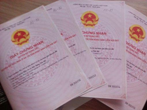 UBND cấp huyện sẽ là đơn vị cấp Giấy chứng nhận đối với những trường hợp đất mua bán bằng giấy viết tay.
