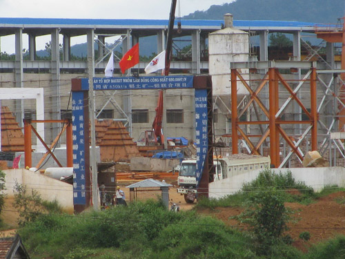 Tổ hợp Bauxit-Nhôm Lâm Đồng (gọi tắt là dự án Tân Rai) - Ảnh: Thu Sương