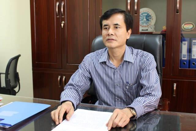 Ông Trần Văn Thọ, Phó cục trưởng Cục Đường thủy nội địa. Ảnh: H.V.