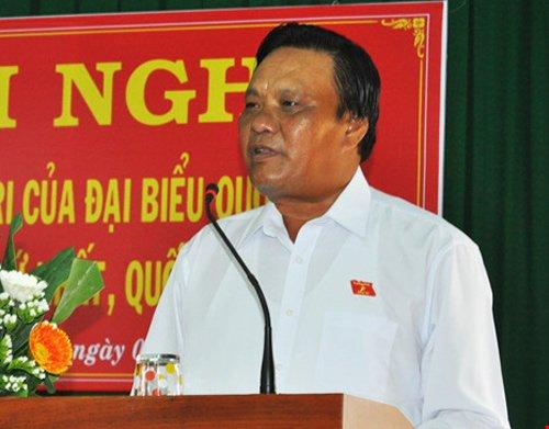 Phó bí thư tỉnh ủy Bình Định Lê Kim Toàn