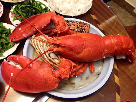 Tôm hùm Mỹ trở thành món ăn quen với người Việt nhờ giá mềm.