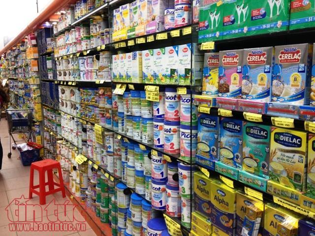 Sắp tới giá sữa sẽ do doanh nghiệp tự quyết định và đăng kí với cơ quan quản lý. Ảnh: HD