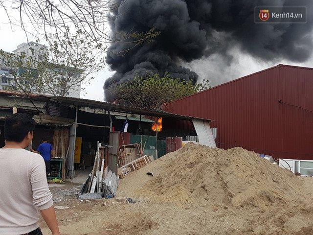 Hiện trường nơi xảy ra hỏa hoạn.
