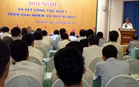 Hội nghị sơ kết quý 1/2017 của Tập đoàn Công nghiệp Than, Khoáng sản Việt Nam.