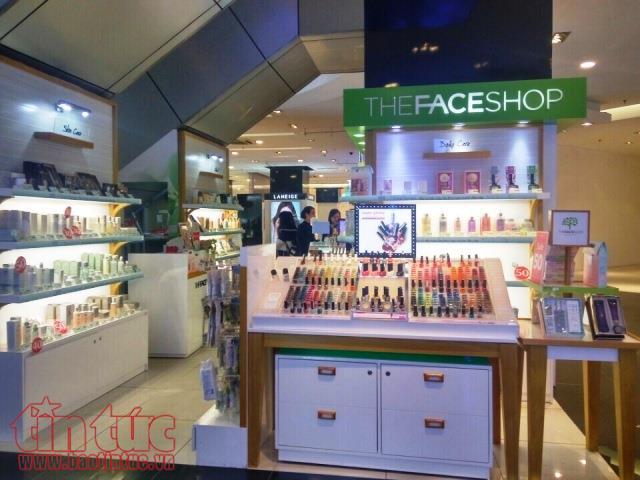 Các hãng mỹ phẩm Hàn Quốc cũng không bỏ qua thị trường tiềm năng như Việt Nam.