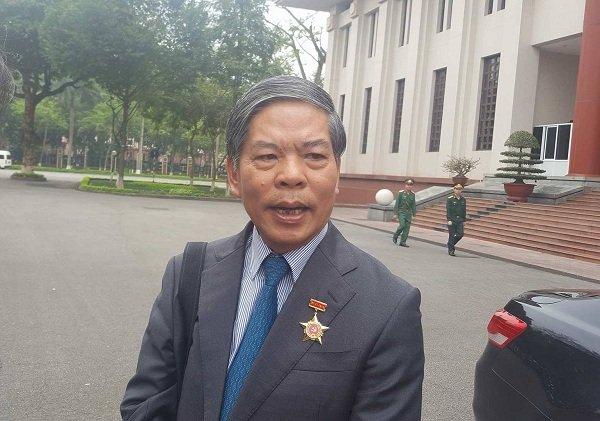 Nguyên Bộ trưởng TN&MT Nguyễn Minh Quang
