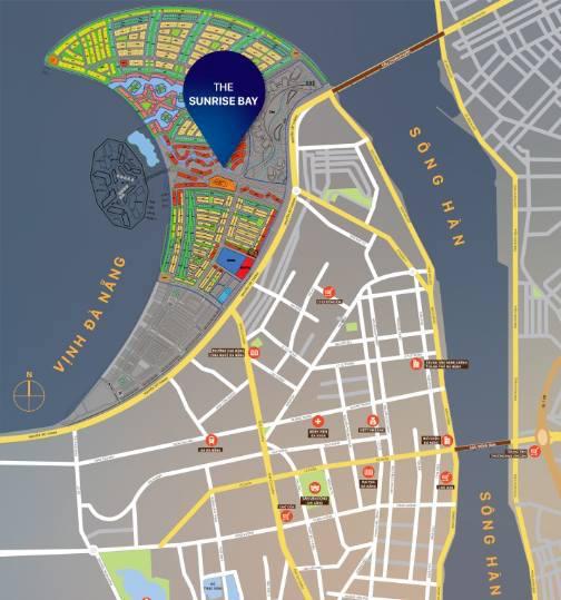 Theo ông Trương Hào, nếu nhìn trên bản Quy hoạch tổng thể dự án có hình Vầng trăng khuyết thì dự án Khu Nhà ở và Biệt thự Biển Thanh bình (29ha) nằm ở phía mũi nhọn của Vầng trăng khuyết, nằm dọc theo đường Nguyễn Tất Thành (phần màu xám)