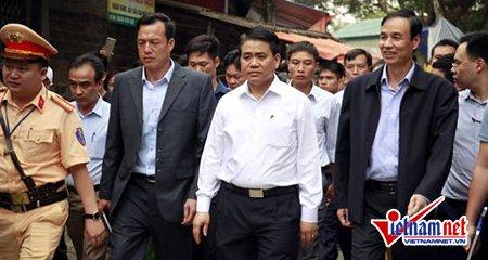Chủ tịch TP Hà Nội Nguyễn Đức Chung