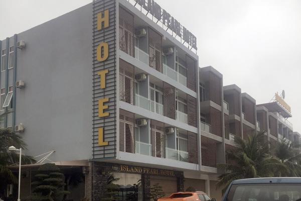 Khách sạn nơi xảy ra vụ cháy.
