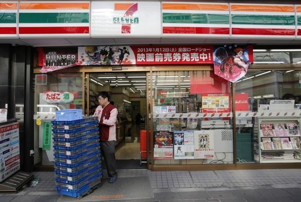 7-Eleven là một trong ba ông lớn sở hữu số lượng cửa hàng tiện lợi nhiều nhất Nhật Bản.