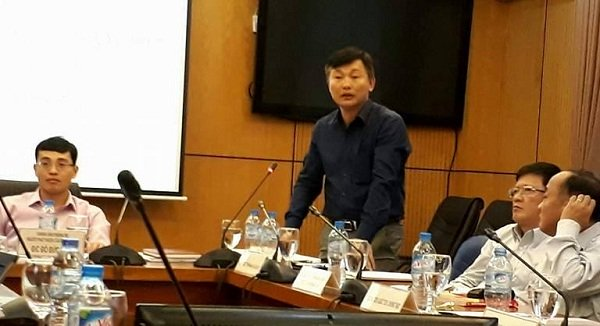 Phó vụ trưởng Vụ Pháp luật dân sự kinh tế (Bộ Tư pháp) Lê Đại Hải