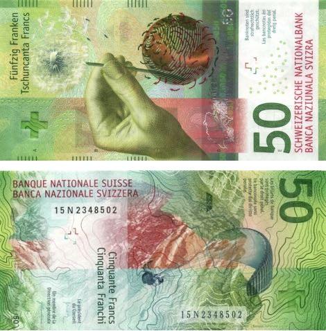 Tờ 50 Franc của Thụy Sỹ