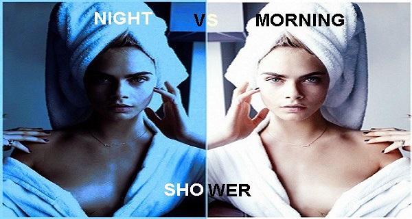 Tắm buổi sáng hay tối thì tốt hơn?
