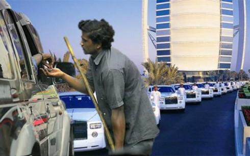 Người ăn xin ở Dubai kiếm bộn tiền (Ảnh minh họa: KT)