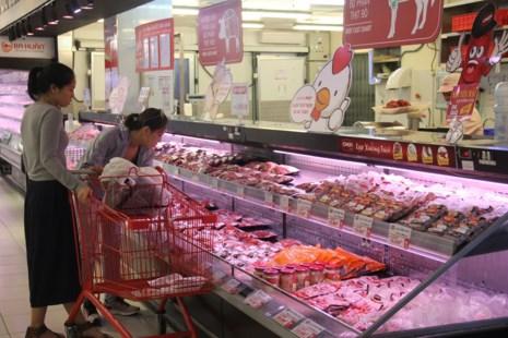 Siêu thị giảm giá sâu cho thịt heo 10%-20% nhưng đảm bảo thịt heo VietGap, truy xuất nguồn gốc.
